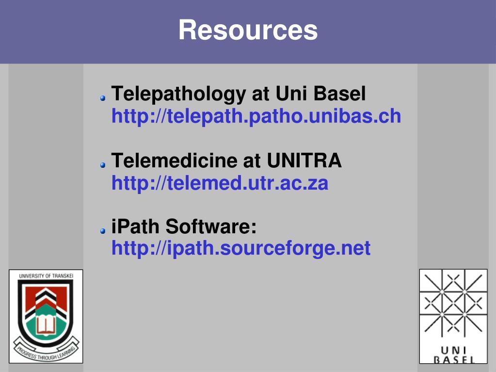 Telepathology at Uni Basel