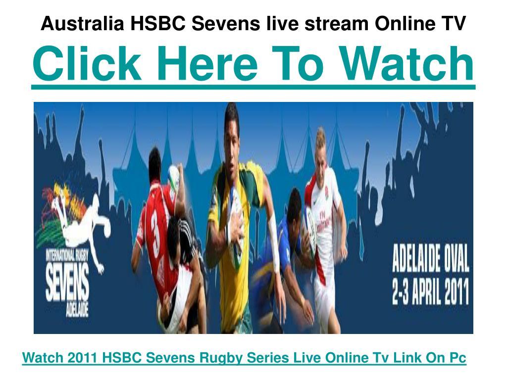 Australia HSBC Sevens live stream Online TV