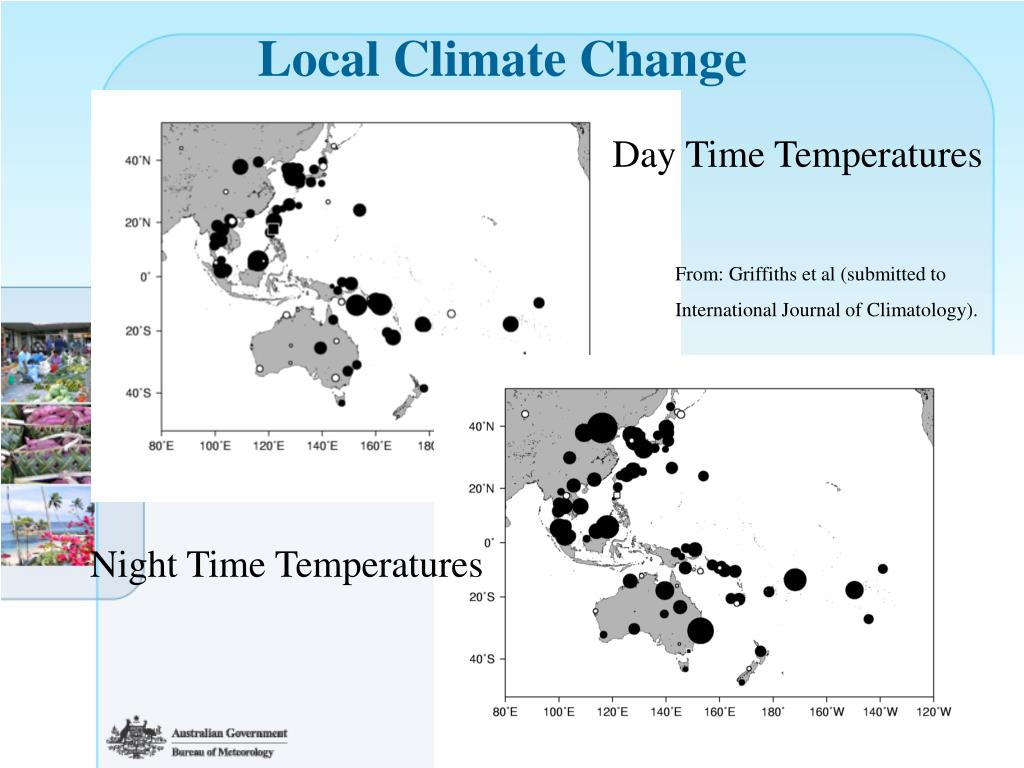 Local Climate Change