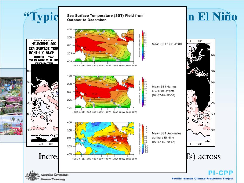 """Typical"" SST pattern during an El Ni"