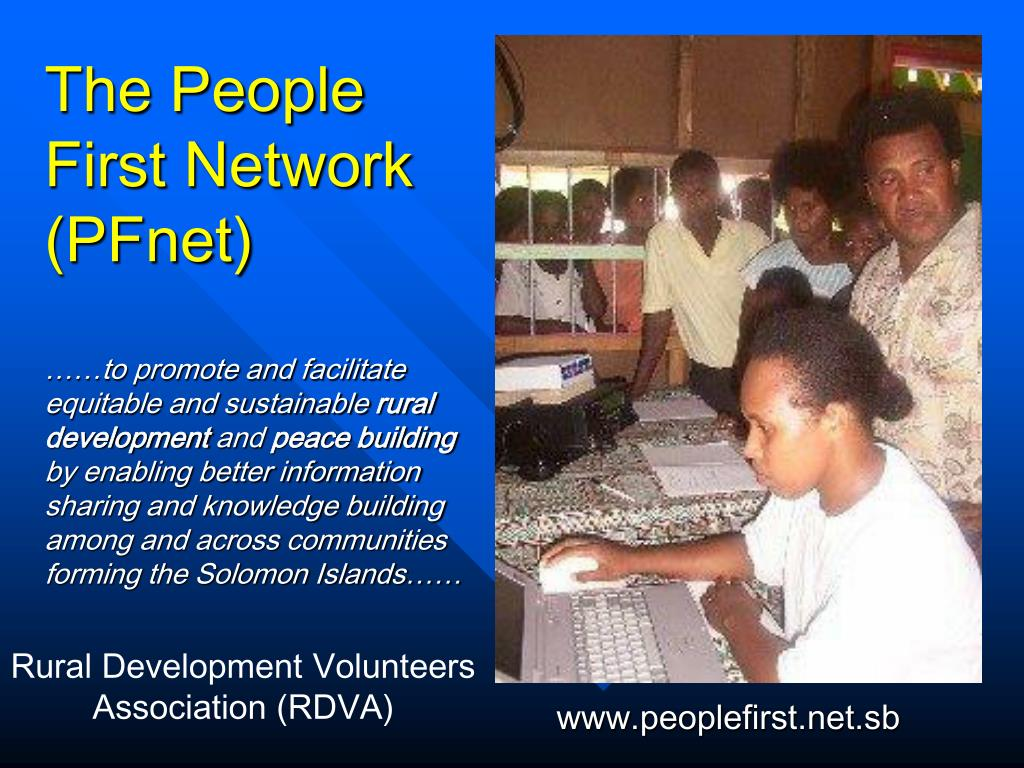 The People First Network (PFnet)
