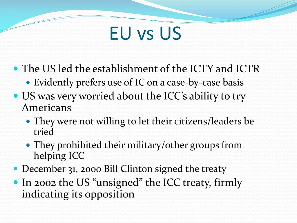 EU vs US