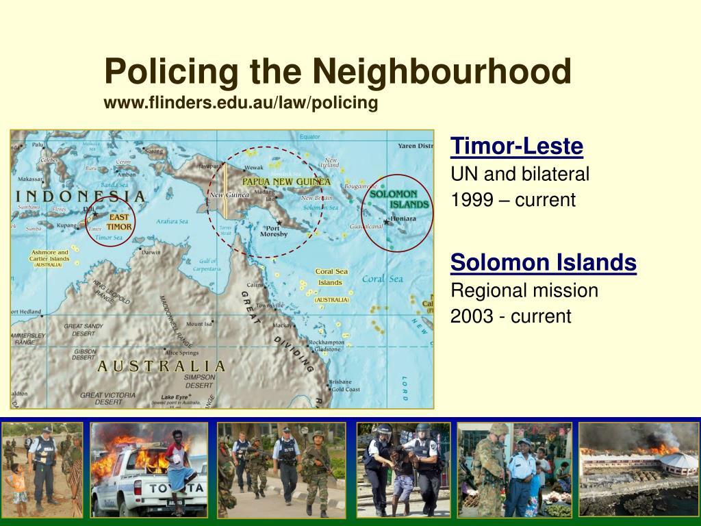 Policing the Neighbourhood