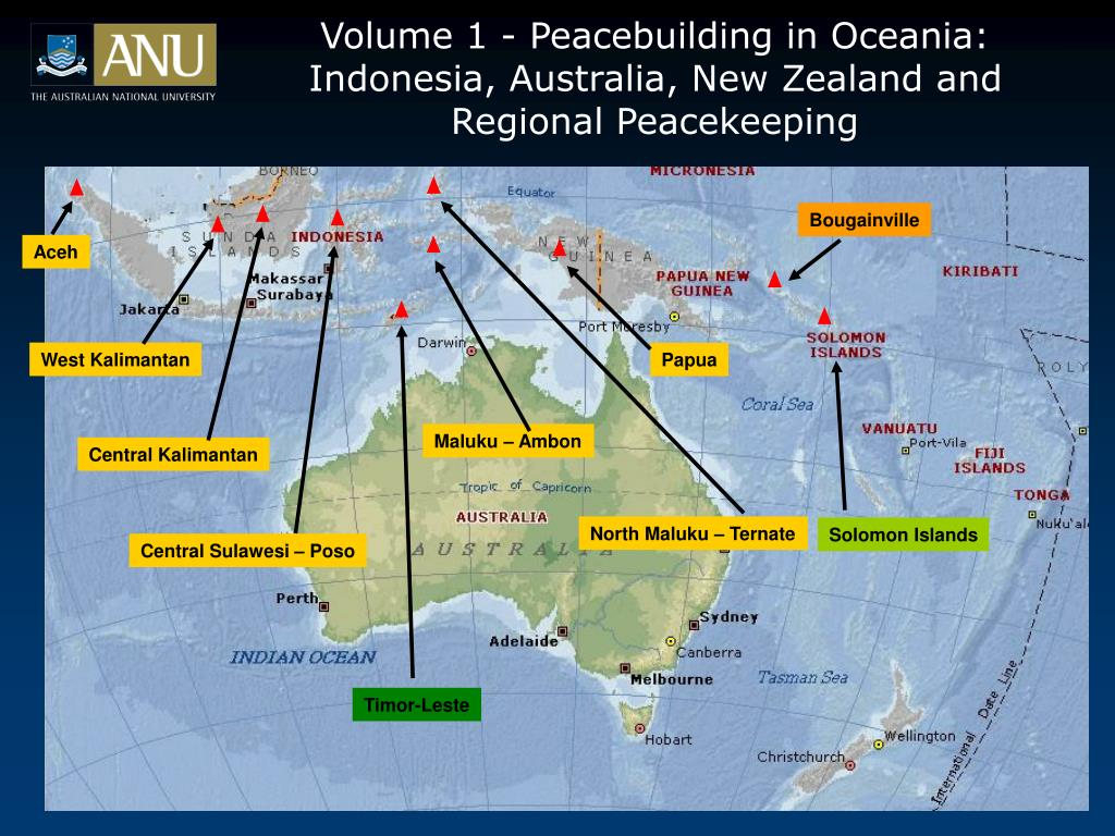 Volume 1 - Peacebuilding in Oceania: Indonesia, Australia, New Zealand and Regional Peacekeeping