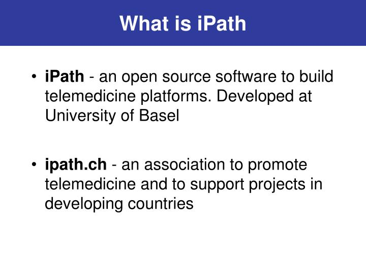 What is ipath