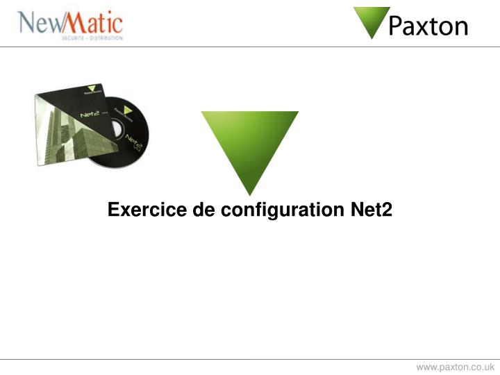 Exercice de configuration Net2