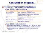 consultation program 4