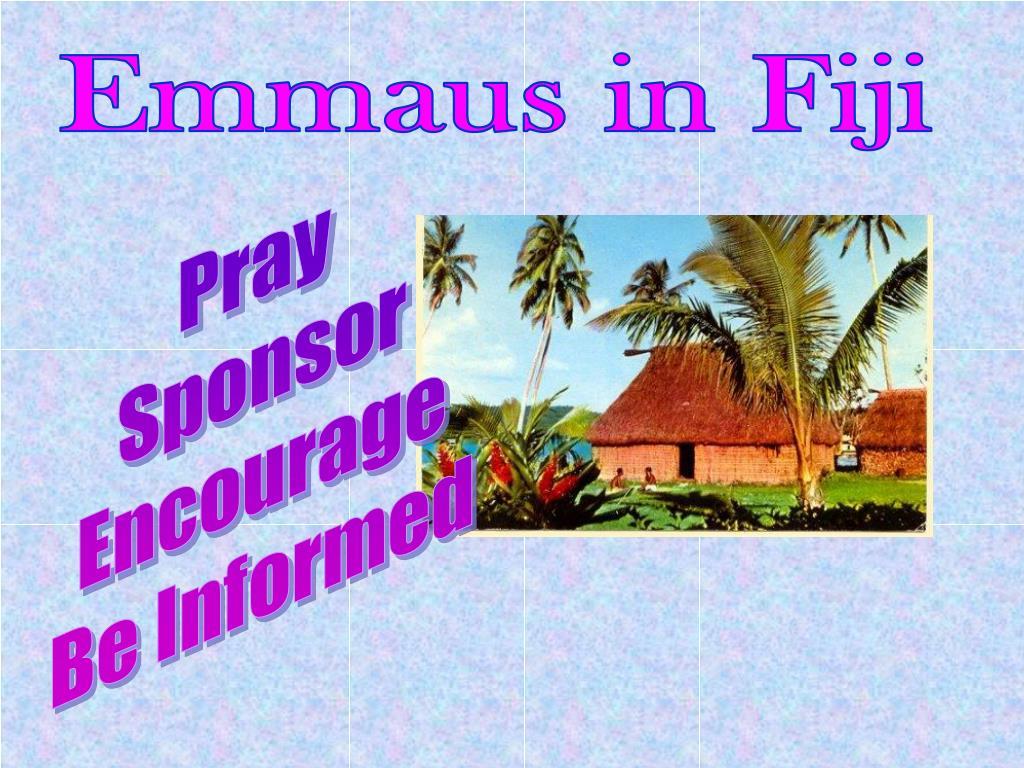 Emmaus in Fiji