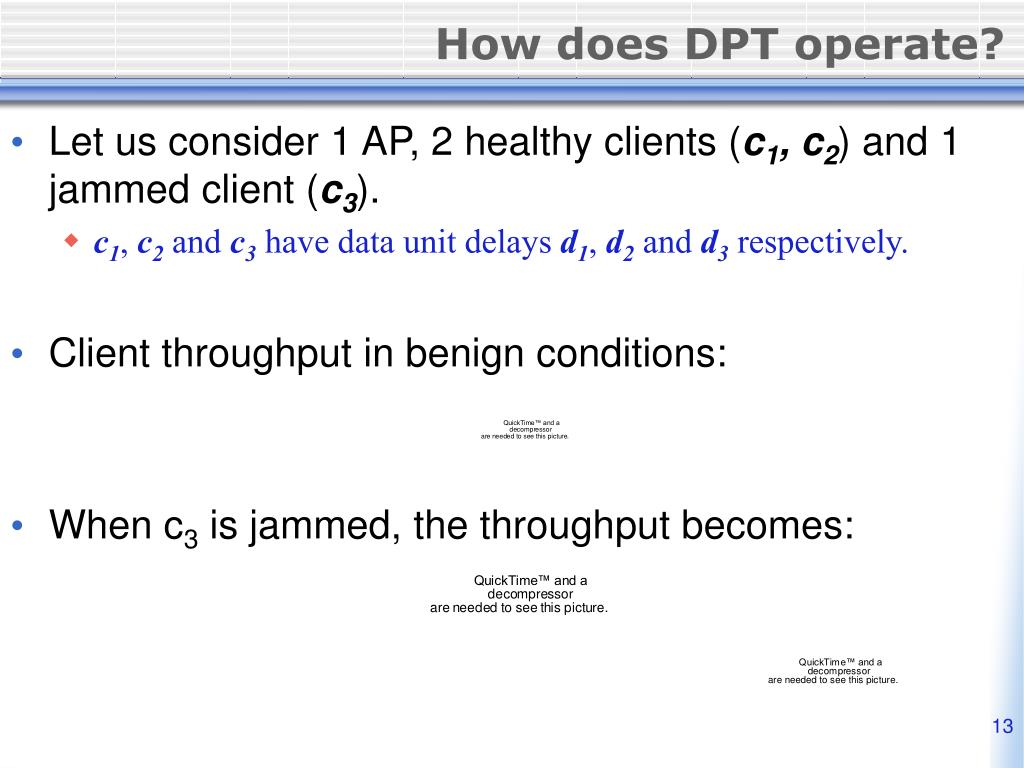 How does DPT operate?