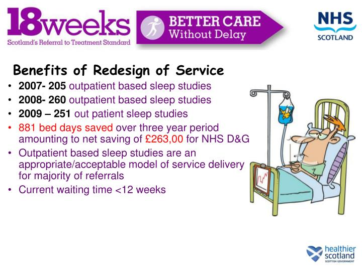 Benefits of Redesign of Service