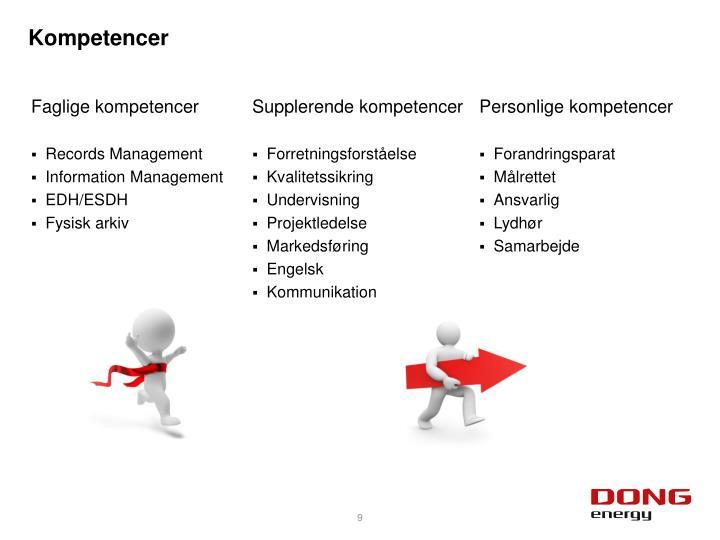 Kompetencer