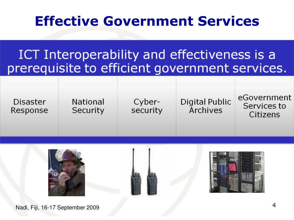 Effective Government Services
