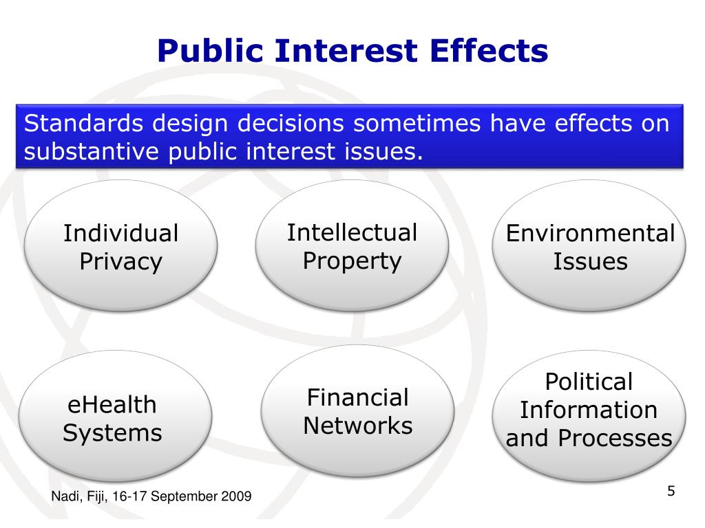 Public Interest Effects