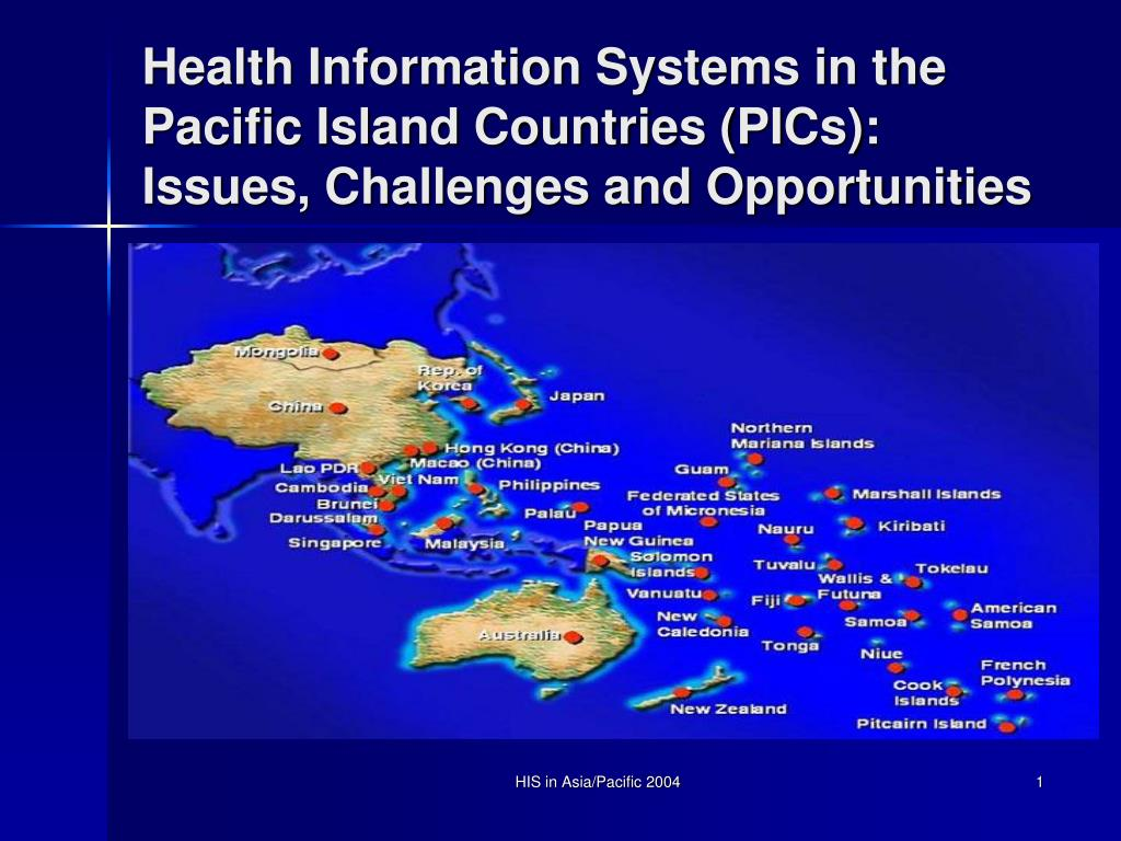 Health Information Systems in the Pacific Island Countries (PICs): Issues, Challenges and Opportunities