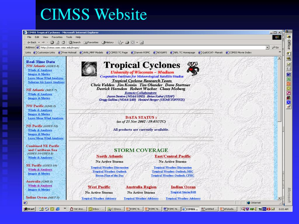 CIMSS Website