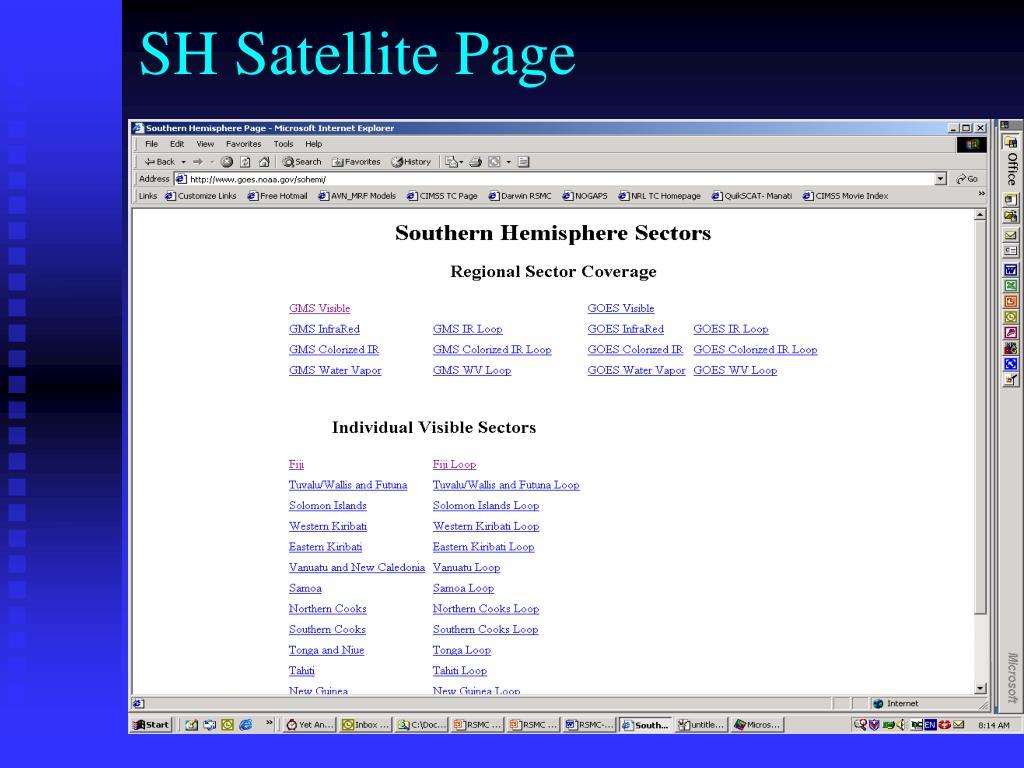 SH Satellite Page