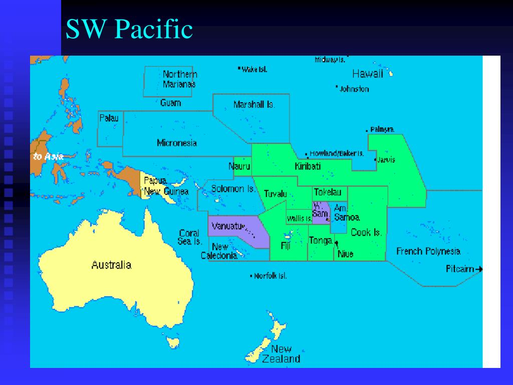 SW Pacific