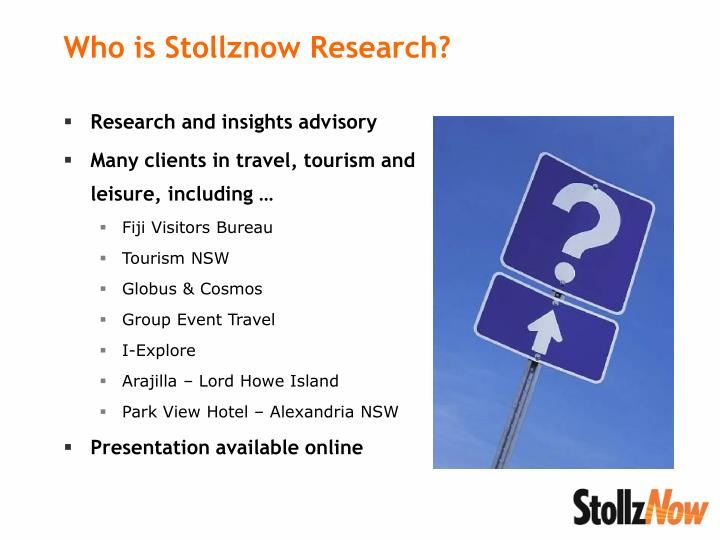 Who is stollznow research