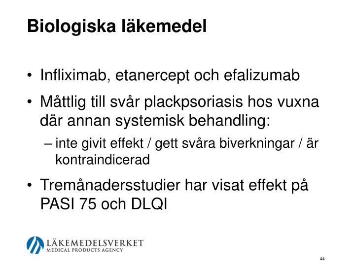 Biologiska läkemedel