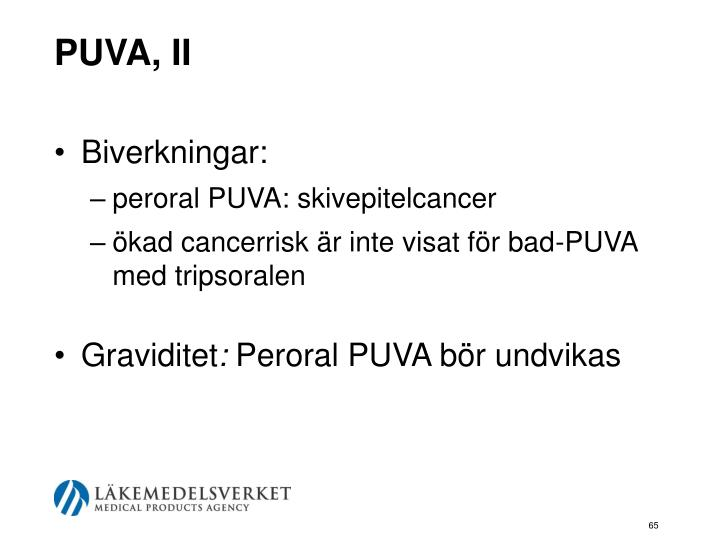 PUVA, II
