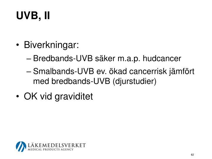 UVB, II
