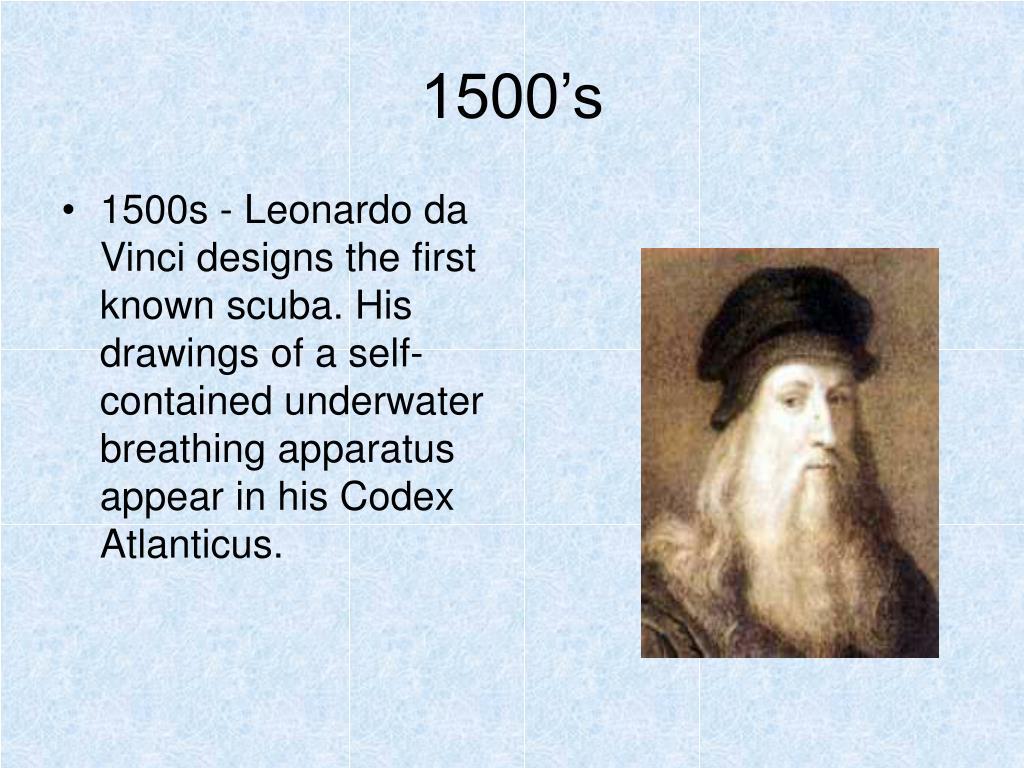 1500's