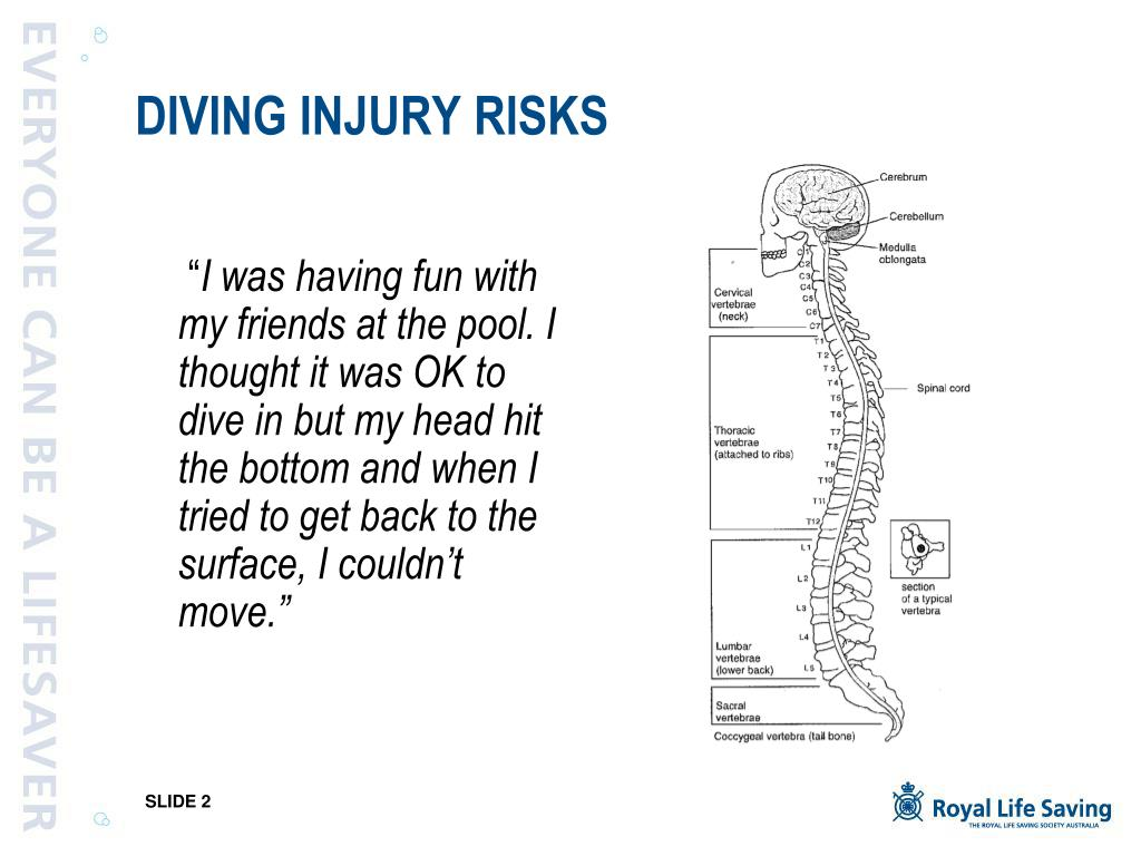 DIVING INJURY RISKS