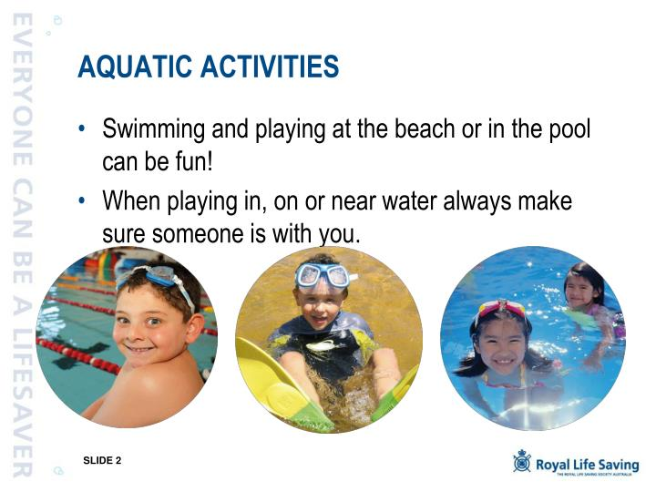 Aquatic activities l.jpg