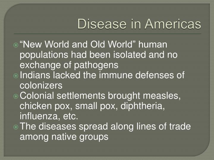 Disease in Americas