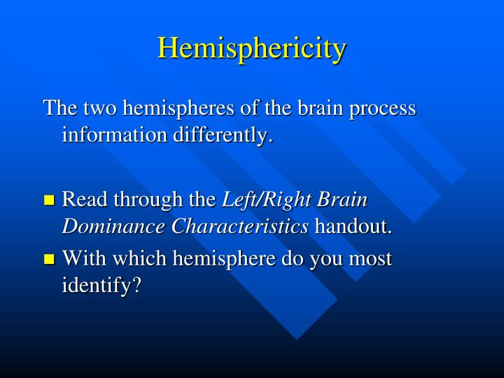 Hemisphericity