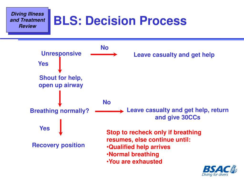 BLS: Decision Process