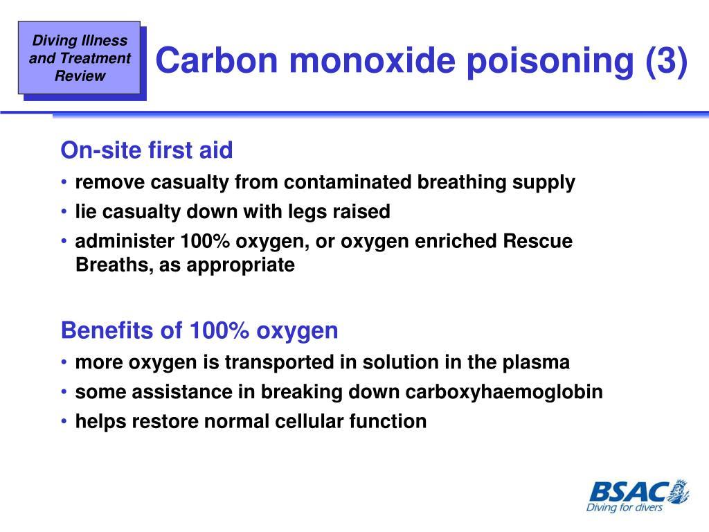 Carbon monoxide poisoning (3)