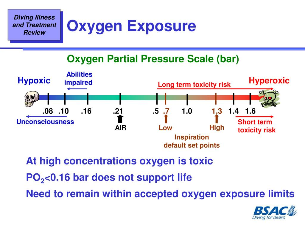 Oxygen Partial Pressure Scale (bar)