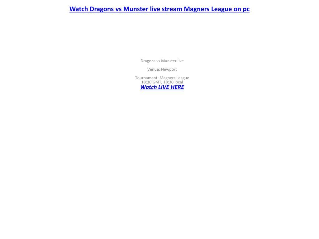 Watch Dragons