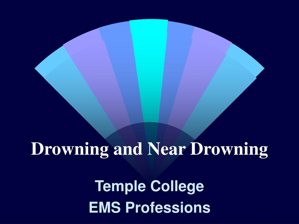 Drowning and Near Drowning
