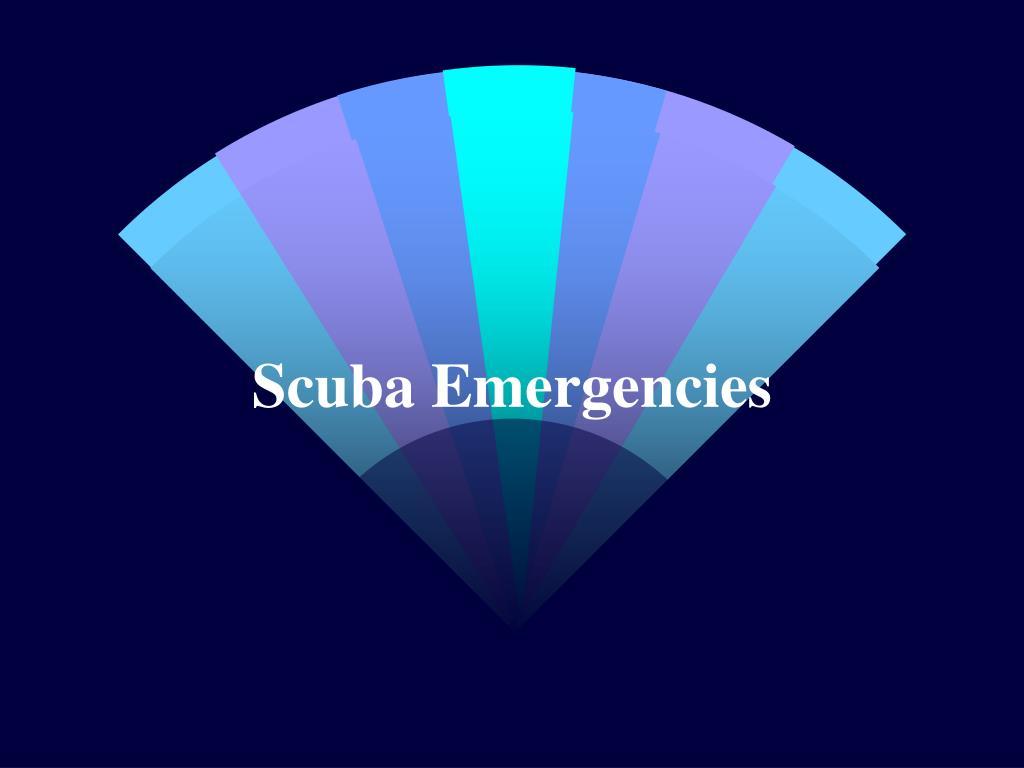 Scuba Emergencies