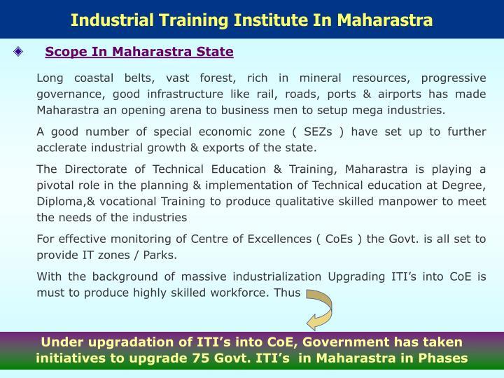 Industrial Training Institute In Maharastra