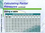 calculating partial pressures continued18