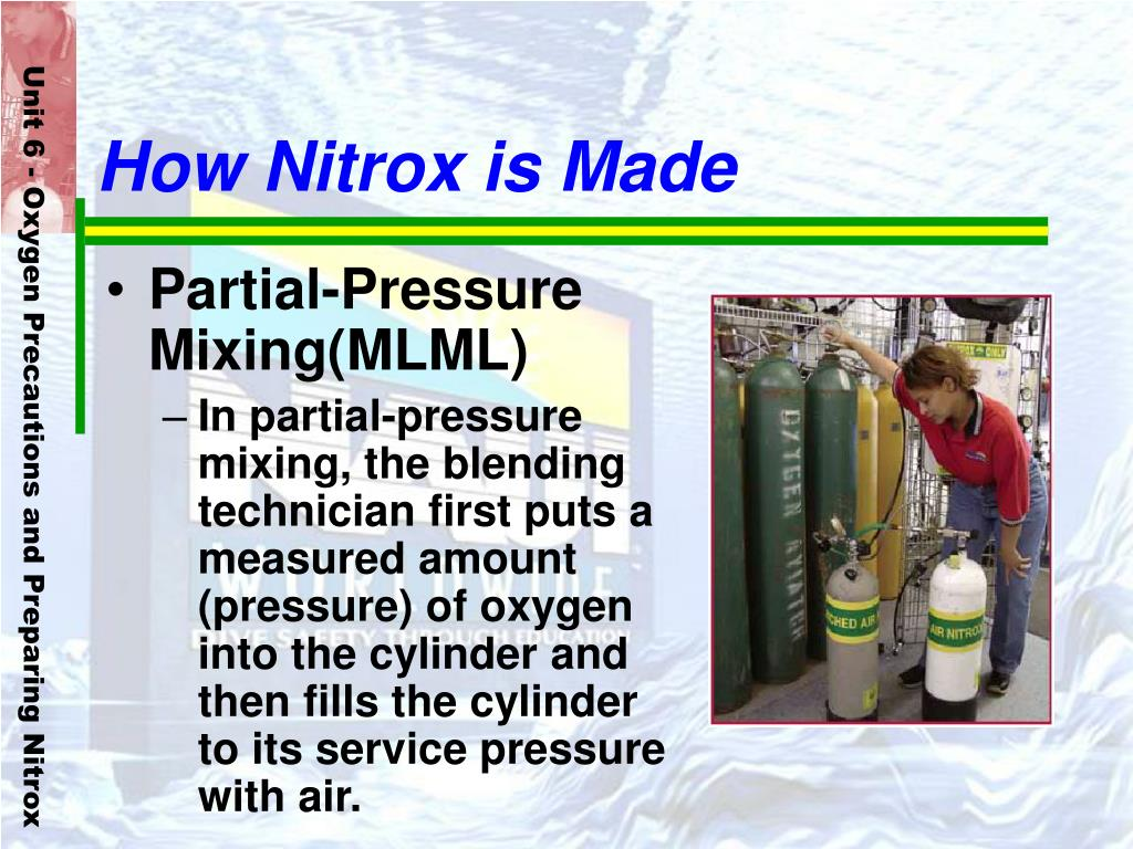 How Nitrox is Made