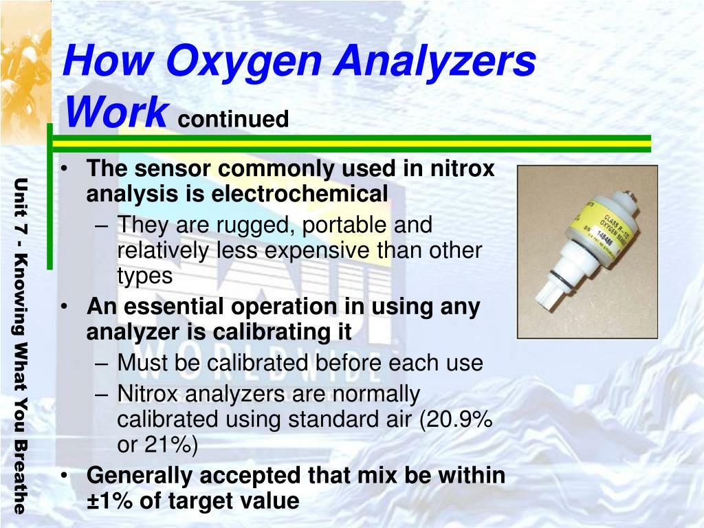How Oxygen Analyzers Work