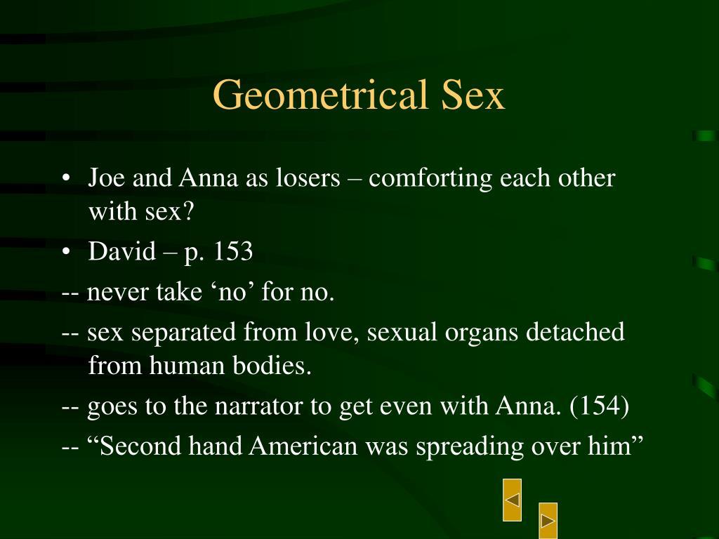Geometrical Sex