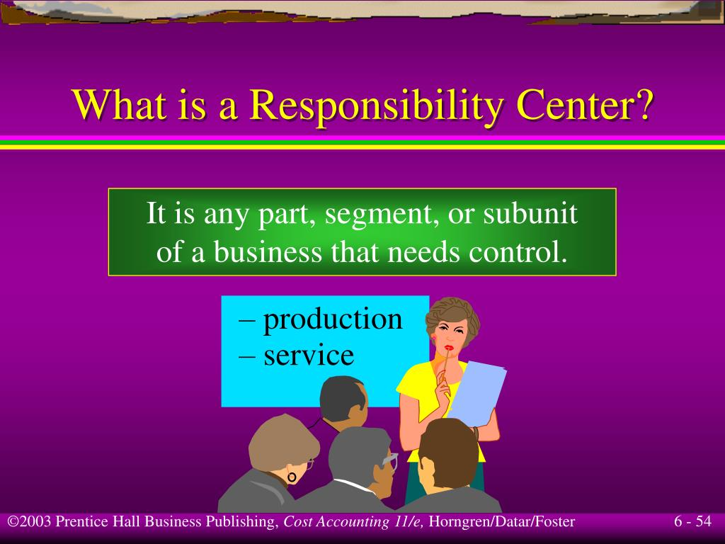 What is a Responsibility Center?