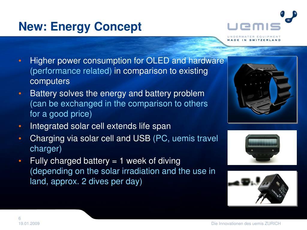 New: Energy Concept