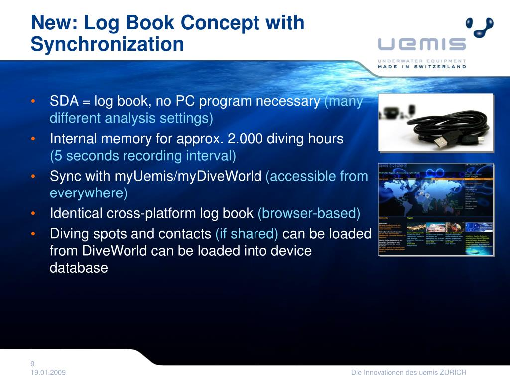 New: Log Book Concept with Synchronization