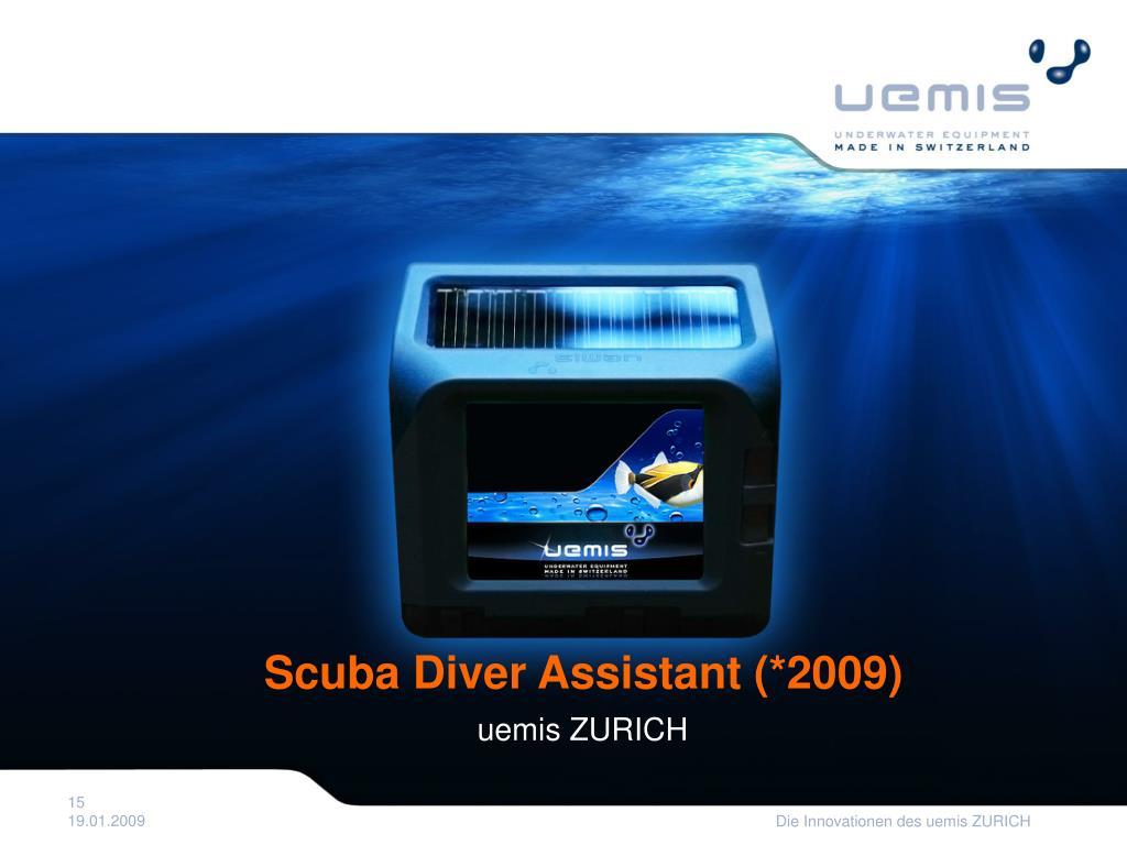 Scuba Diver Assistant (*2009)
