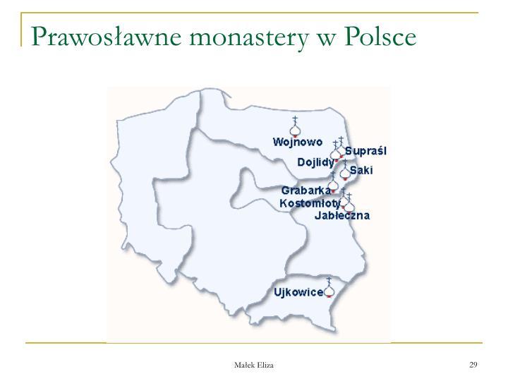 Prawosawne monastery w Polsce