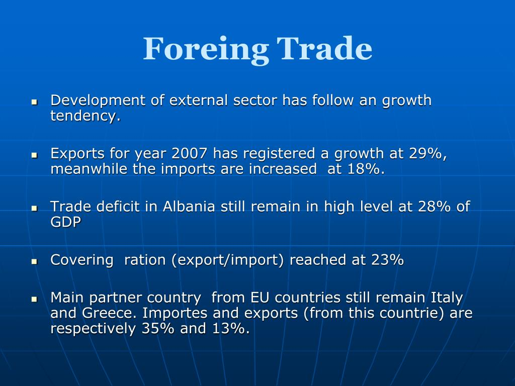 Foreing Trade