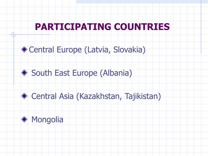 Participating countries l.jpg