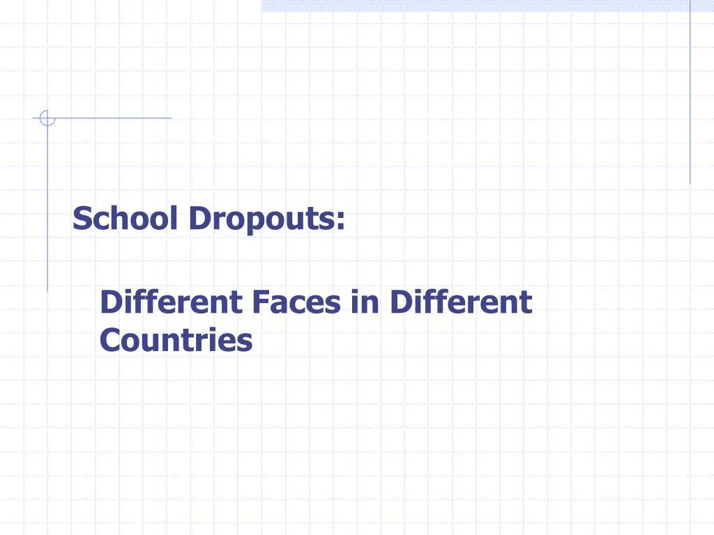 School Dropouts: