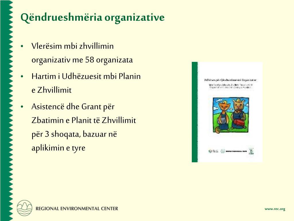 Qëndrueshmëria organizative